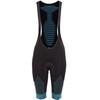 X-Bionic Effektor Power Biking Bib Tight Short Women Black/Turquoise